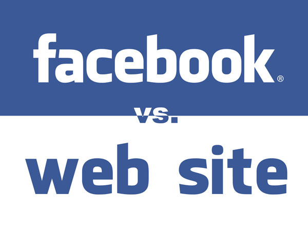 facebook-vs-website